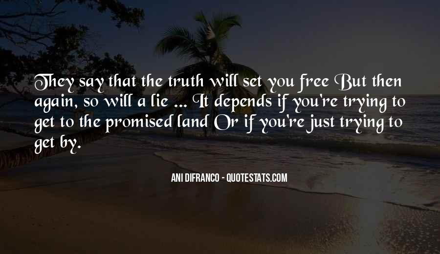 But You Promised Quotes #252440