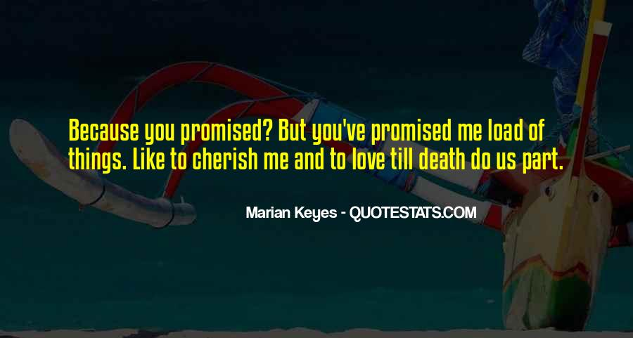 But You Promised Quotes #423863