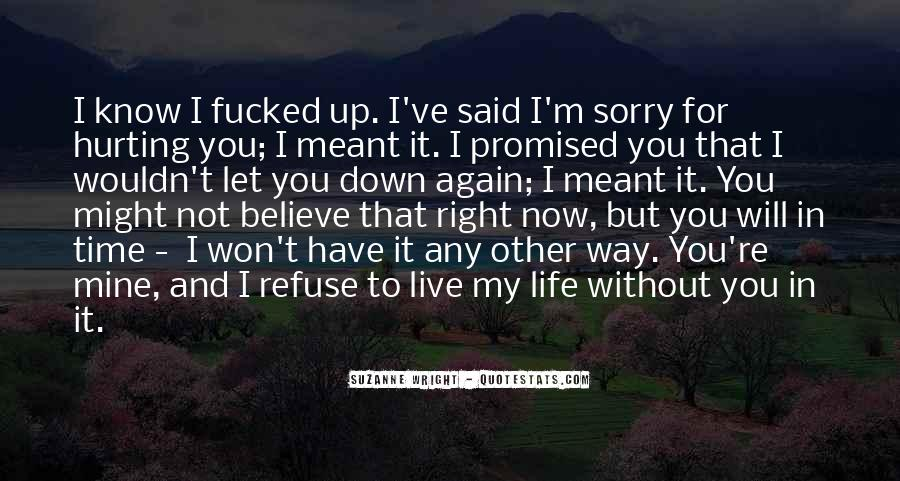 But You Promised Quotes #446522