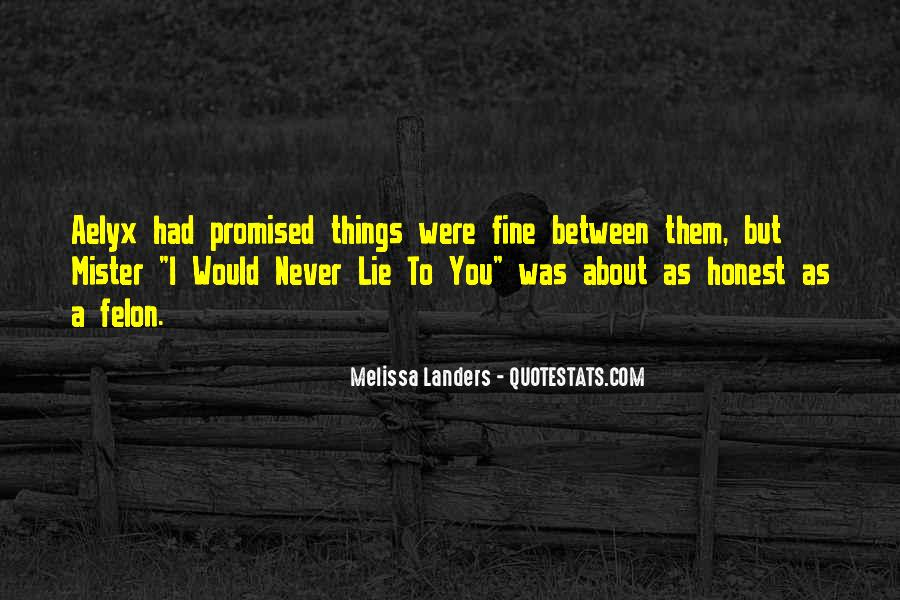 But You Promised Quotes #949021