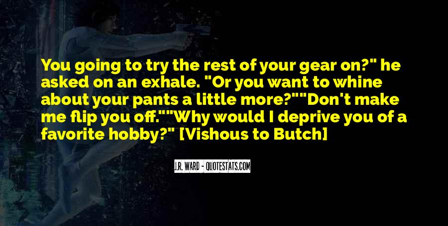 Butch O'hare Quotes #142913
