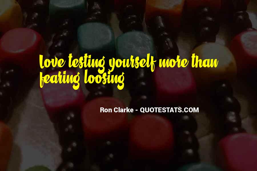 Quotes About Loosing #223890