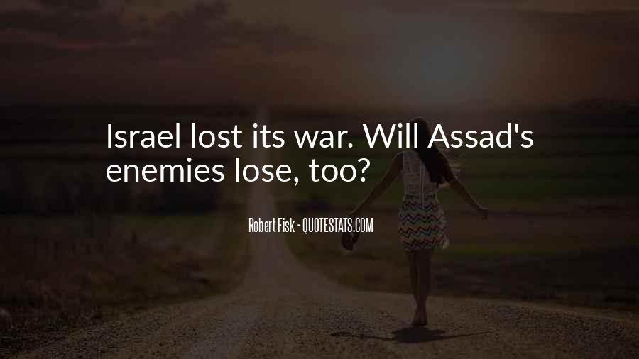 C Assad Quotes #108541