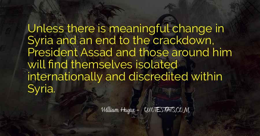 C Assad Quotes #162212