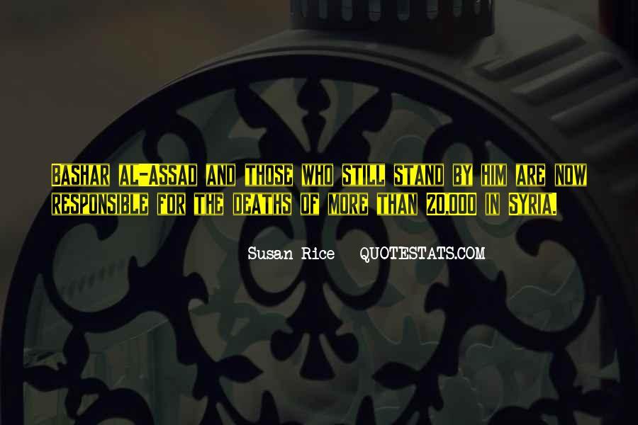 C Assad Quotes #56220