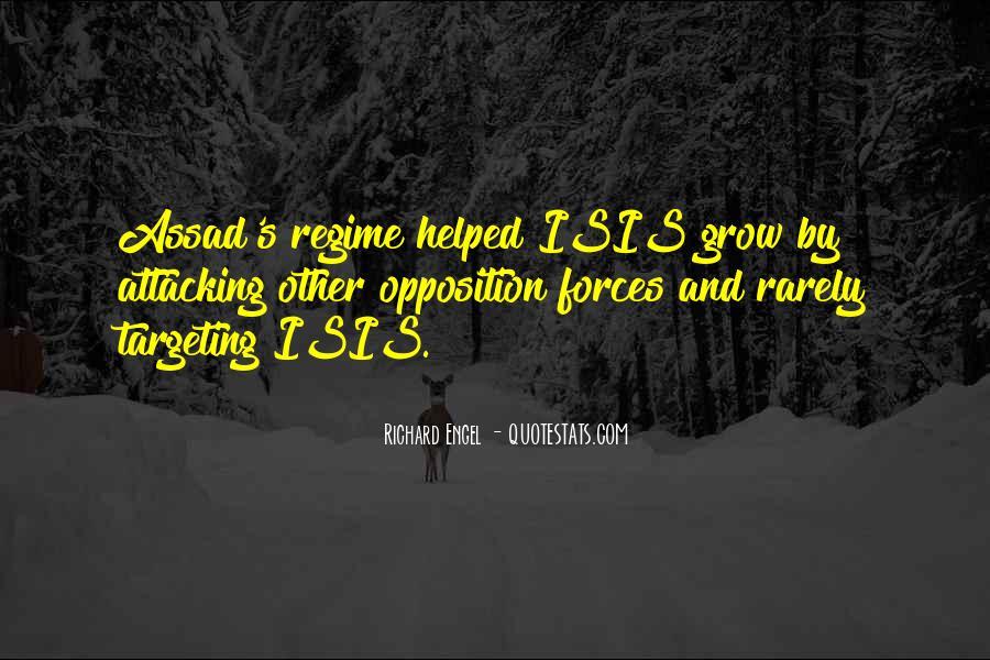 C Assad Quotes #9302