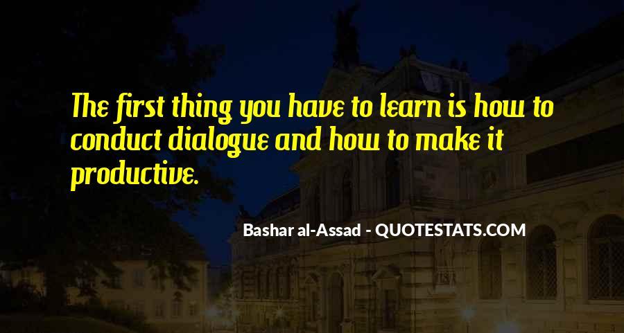 C Assad Quotes #94984