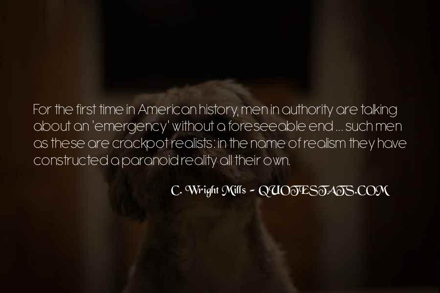 C W Mills Quotes #62815