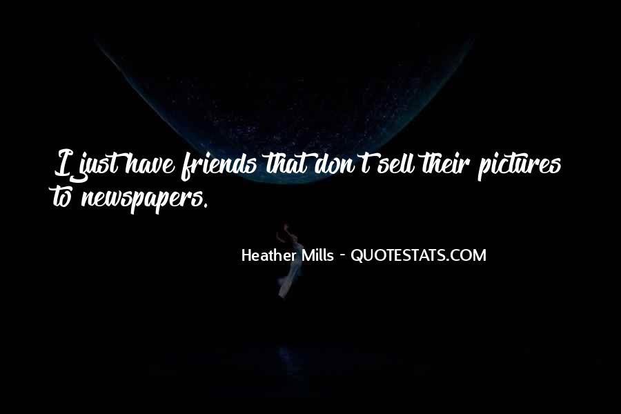 C W Mills Quotes #86525