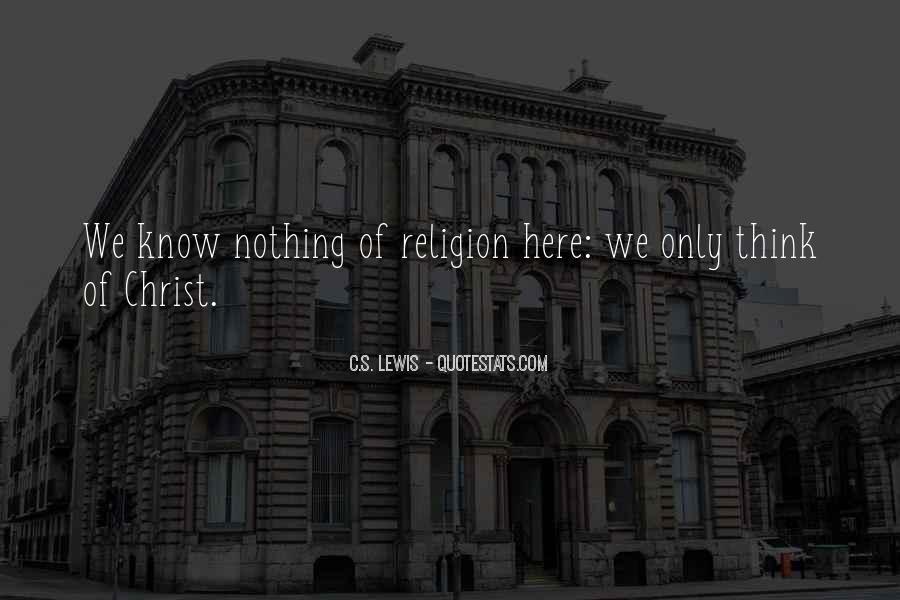 C.s. Quotes #14725