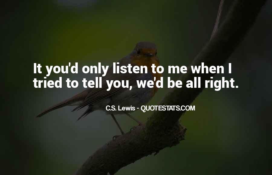 C.s. Quotes #15259