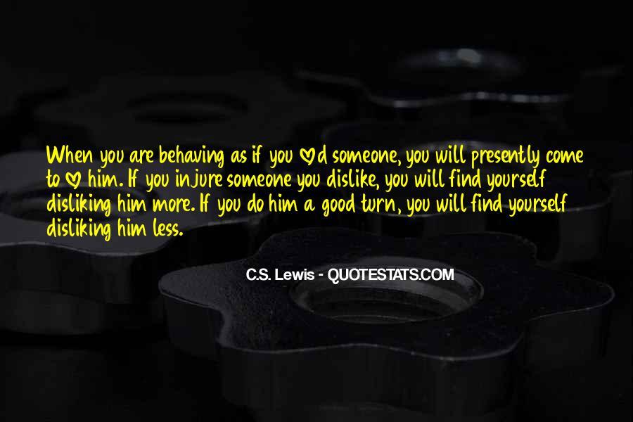 C.s. Quotes #9124
