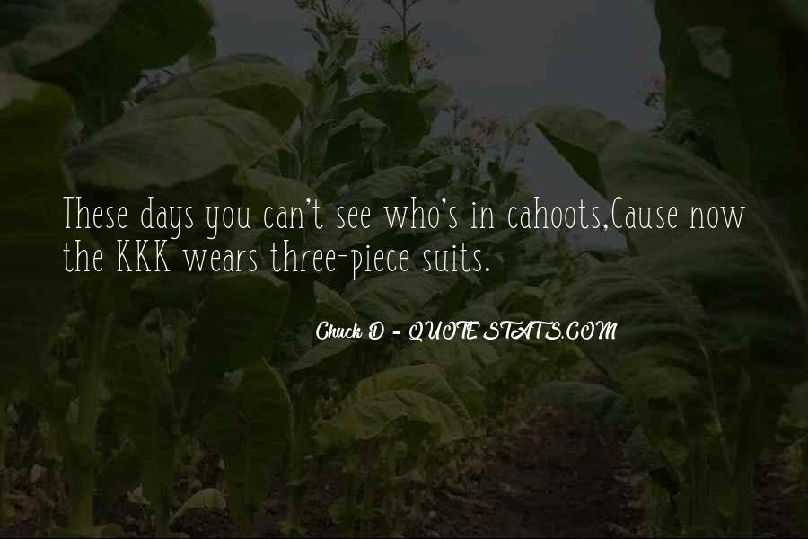 Cahoots Quotes #1434491