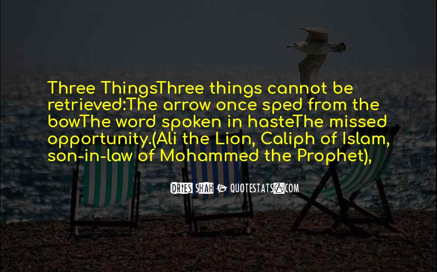 Caliph Ali Quotes #1071176