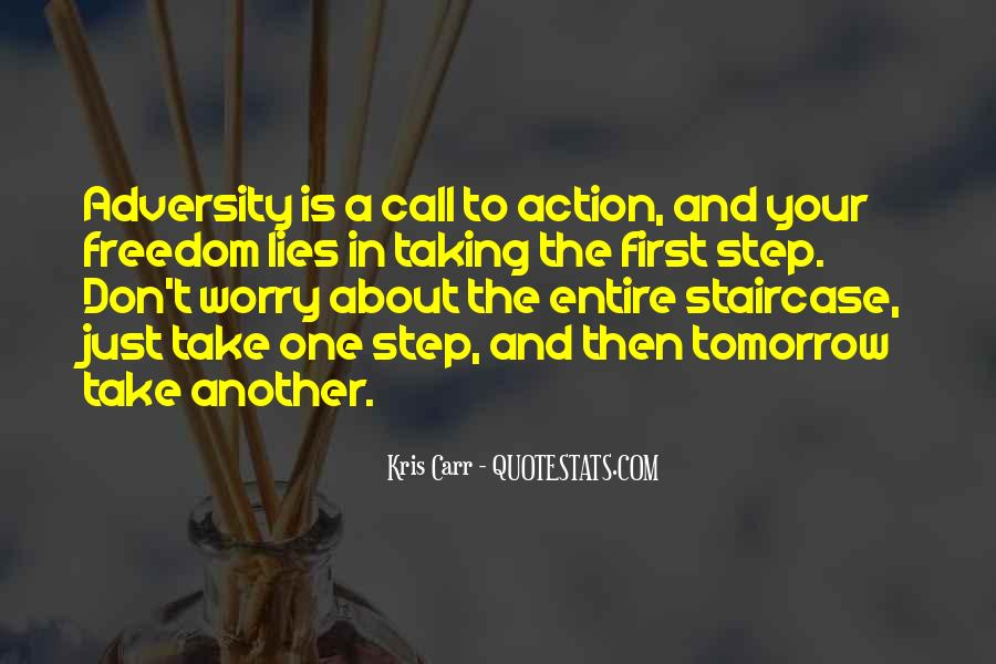 Call For Action Quotes #1087018