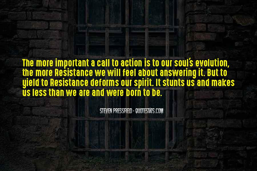 Call For Action Quotes #1204666