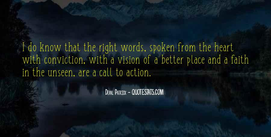 Call For Action Quotes #841868
