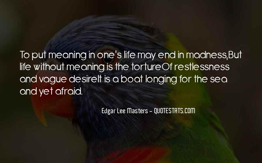 Quotes About Longing And Desire #1118491