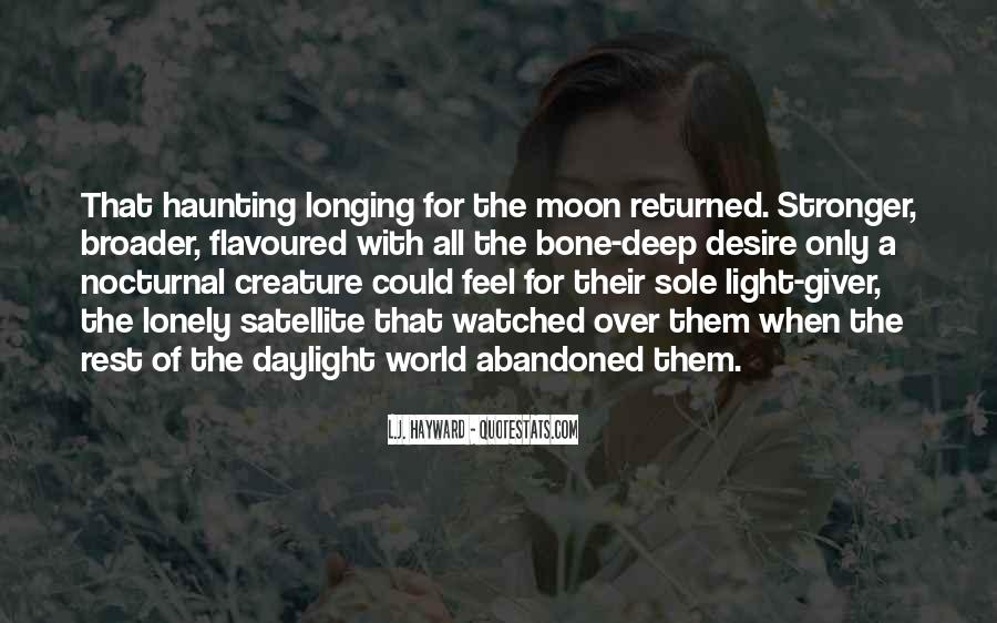 Quotes About Longing And Desire #1224119