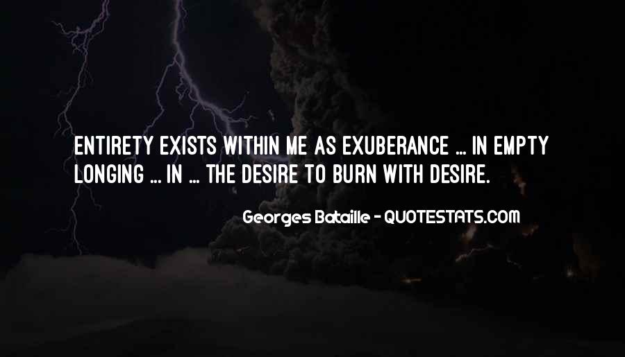 Quotes About Longing And Desire #1477227