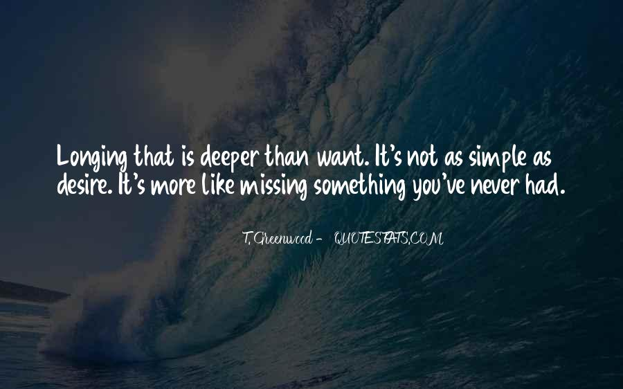 Quotes About Longing And Desire #397765