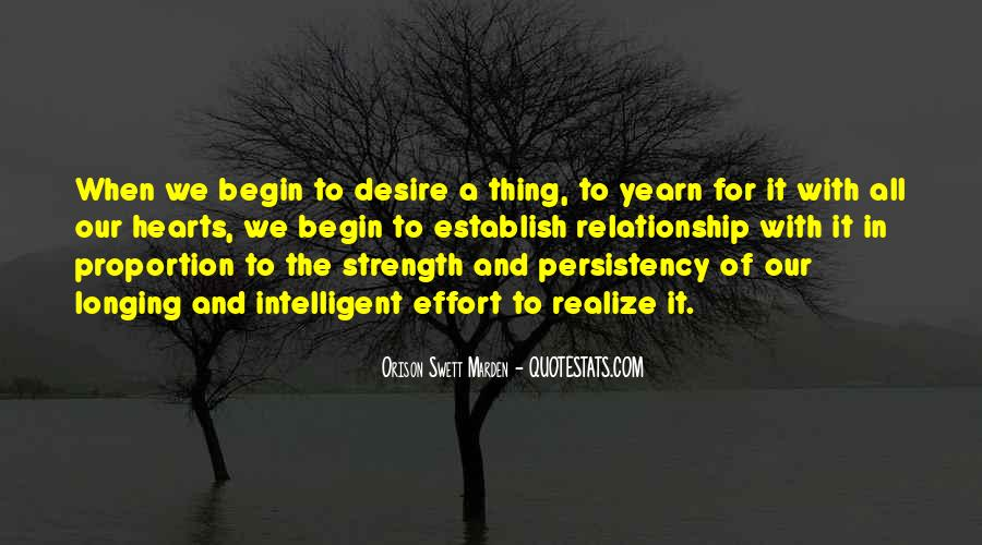 Quotes About Longing And Desire #748686