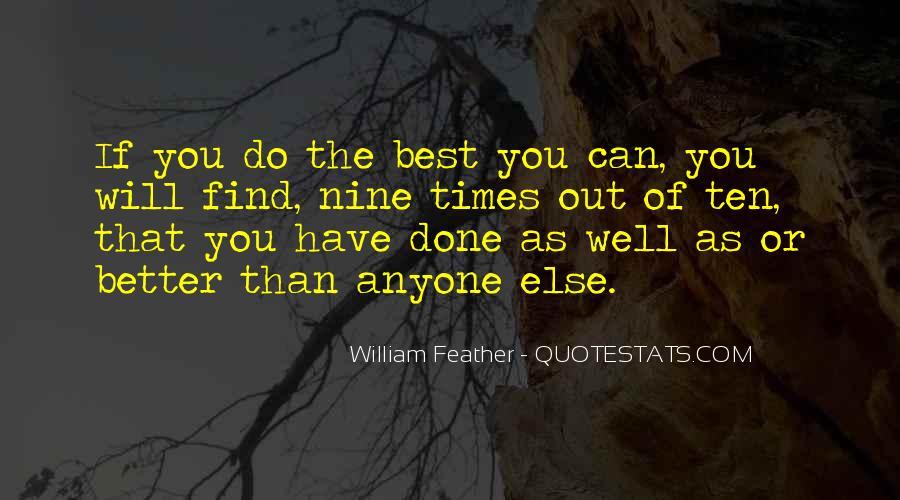 Can Do Better Quotes #14988