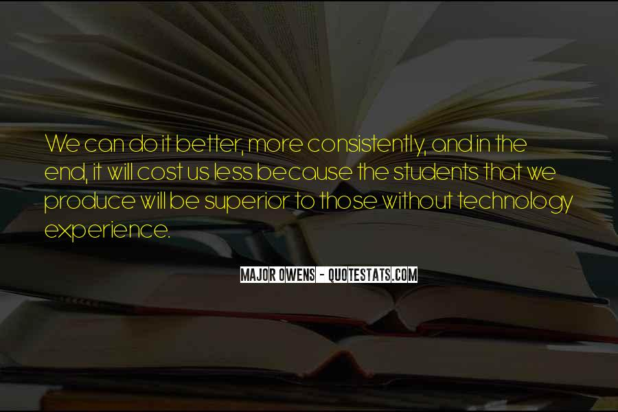 Can Do Better Quotes #16166