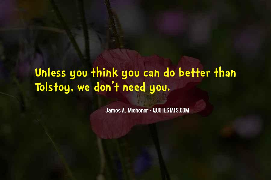 Can Do Better Quotes #2696