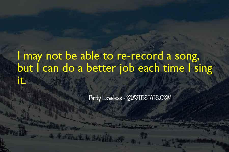 Can Do Better Quotes #63776