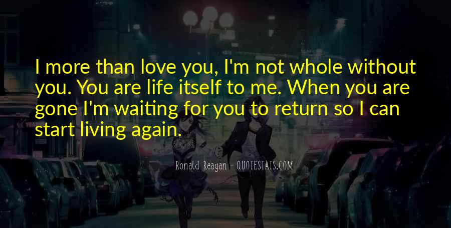Can I Love Again Quotes #413051