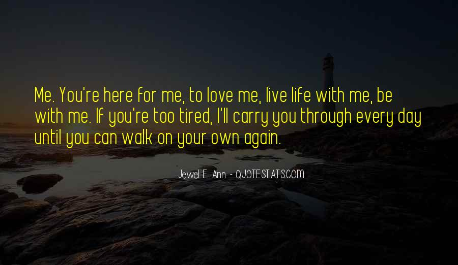 Can I Love Again Quotes #416919