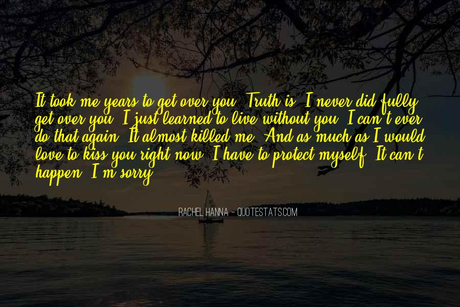 Can I Love Again Quotes #597483
