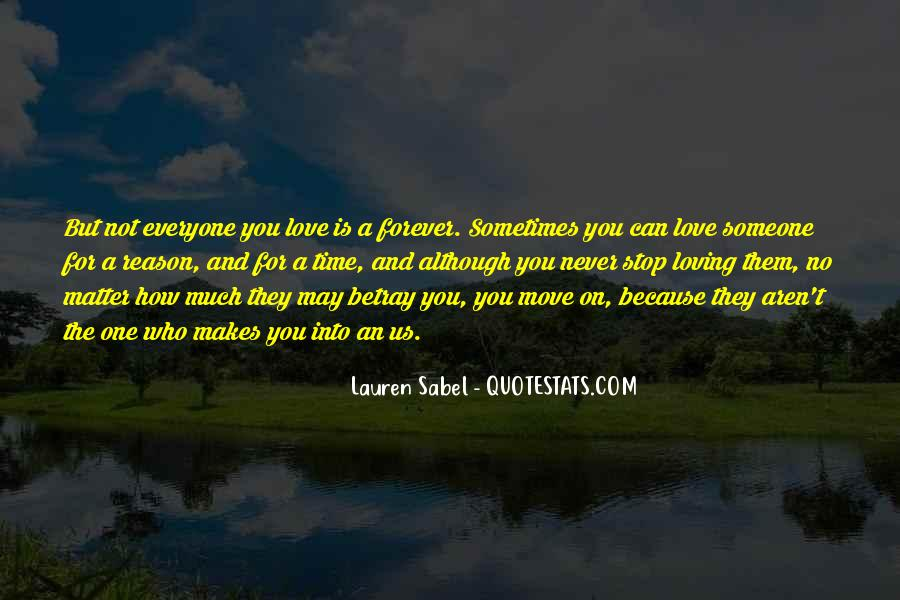 Can Not Move On Quotes #1814189