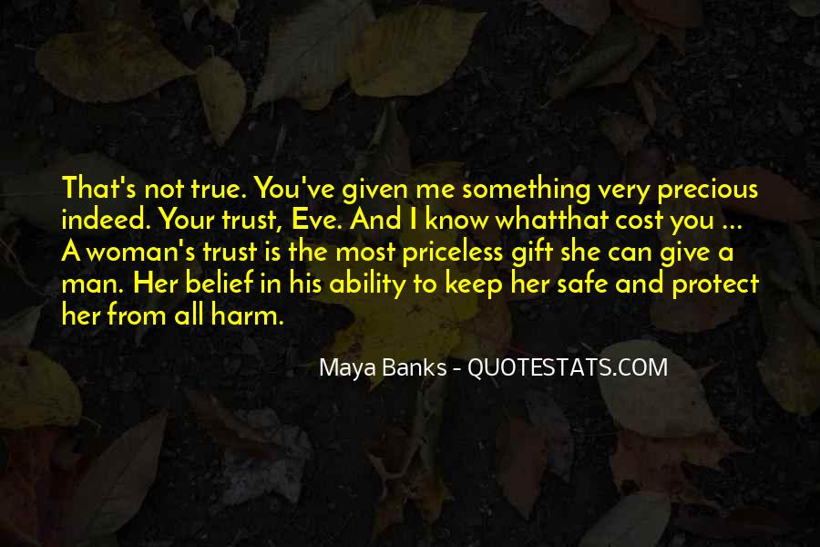 Can Not Trust Quotes #17500