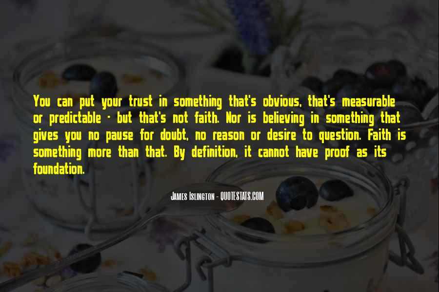 Can Not Trust Quotes #431166