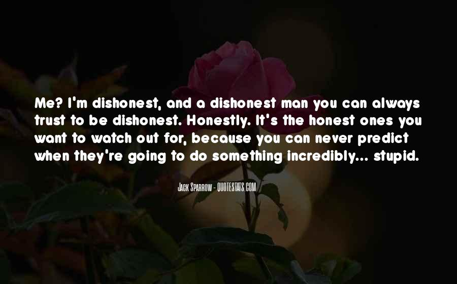 Can Trust A Man Quotes #1175264
