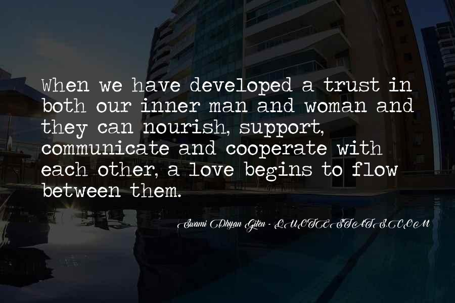 Can Trust A Man Quotes #439038