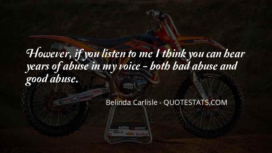 Can You Hear Me Quotes #624990