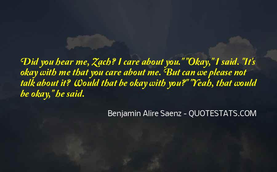Can You Hear Me Quotes #730739