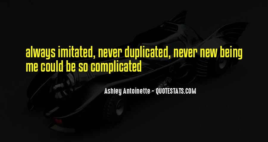 Can't Be Duplicated Quotes #1222634