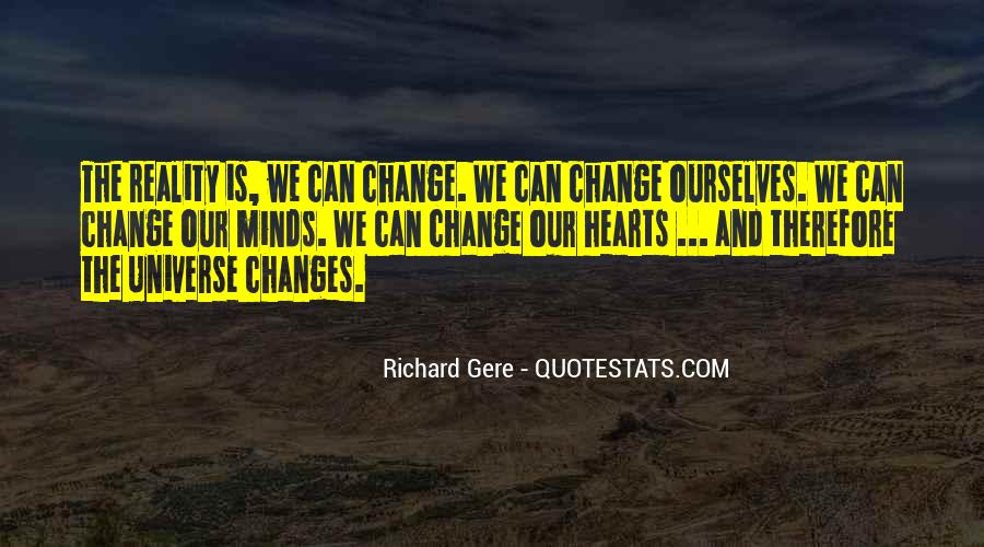 Can't Change Reality Quotes #1157619