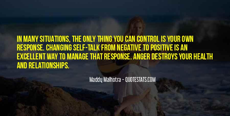 Can't Control My Anger Quotes #354047