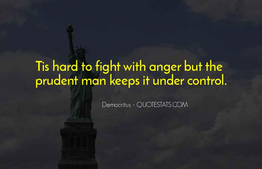 Can't Control My Anger Quotes #40989