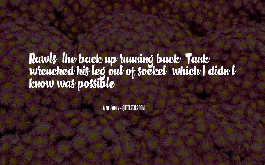 Can't Get You Back Quotes #3039