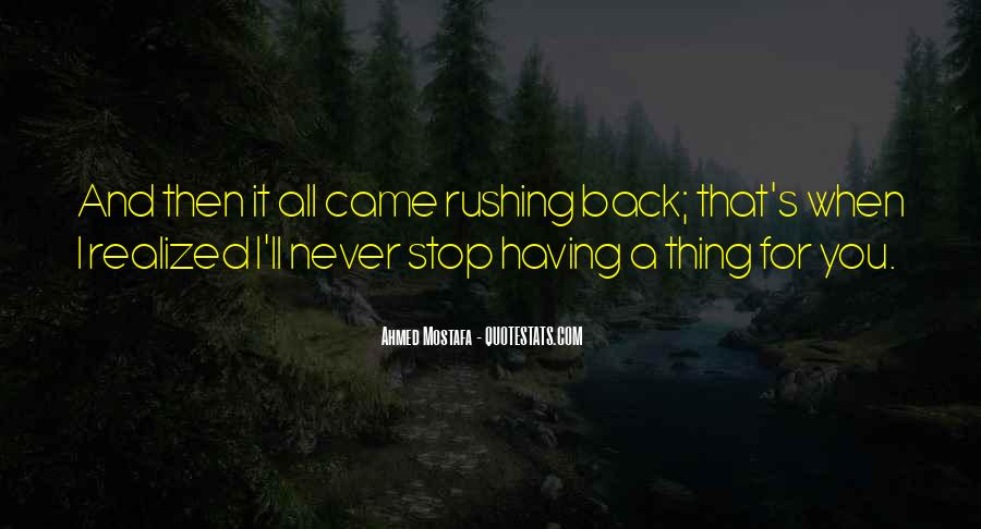 Can't Get You Back Quotes #3086