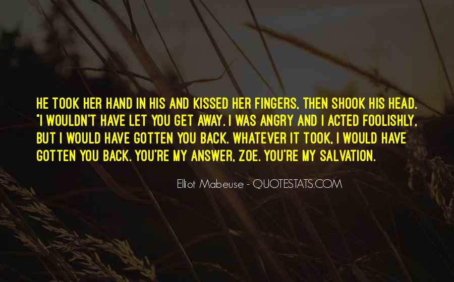 Can't Get You Back Quotes #3768