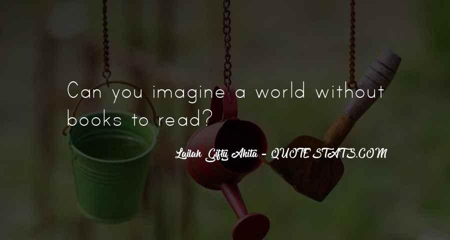 Can't Imagine Life Without You Quotes #1846674
