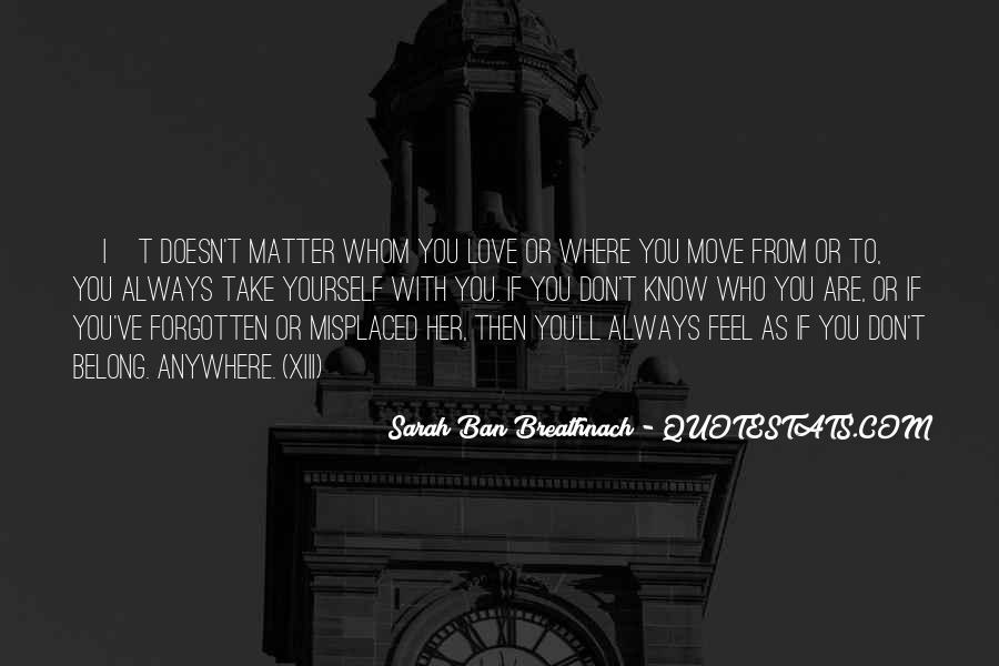 Can't Move On Love Quotes #123265