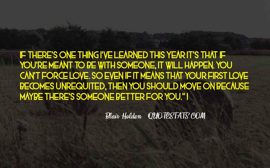 Can't Move On Love Quotes #135854